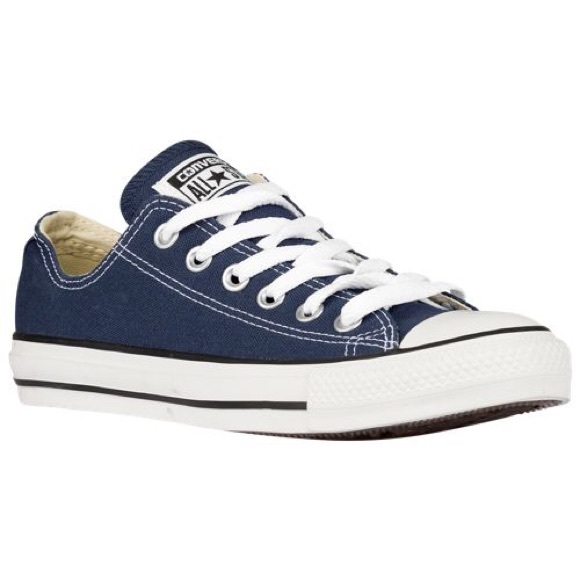 b0a13d0918c CONVERSE Shoes | Unisex Navy Blue Low Tops W 55 M 3 12 | Poshmark